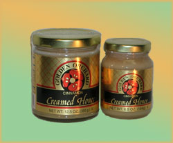 Golden Orchard Cinnamon Creamed Honey