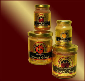 Golden Orchard Delicious Creamed Honey