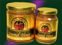 Golden Orchard's Marionberry Honey